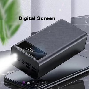 Moerdon Power Bank 50000mAh for Mobile Fast Charging with 3 Inputs