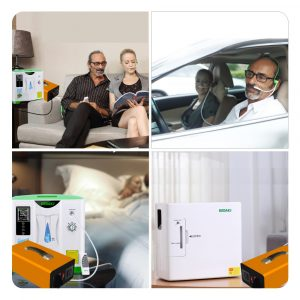 Power Backup For Oxygen Concentrator