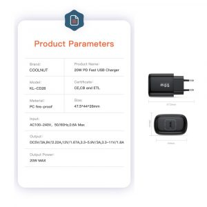 PD 20W Fast Charger