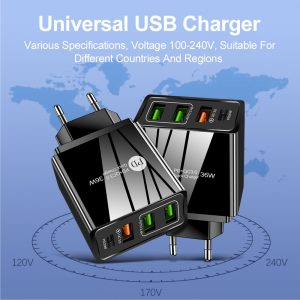 3 USB Fast Charger