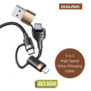 4 In1 High Speed Data + Charging Cable