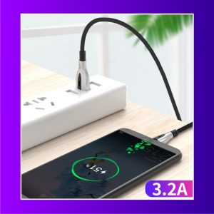 Data Cable With Smart LED Light and 8pin USB Charging