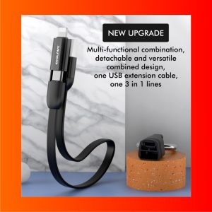 2 IN 1 Data Cable