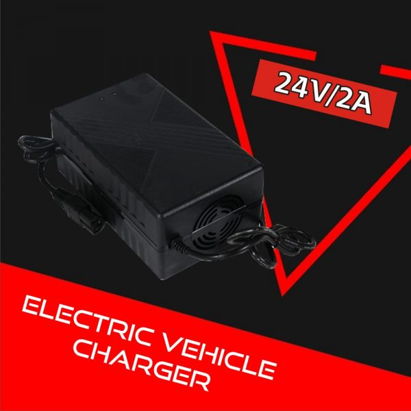 Electric Vehicle Charger 24V 2A (Lithium-ion)