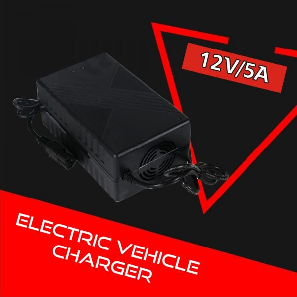 Electric Vehicle Charger 12V 5A (Lead Acid)