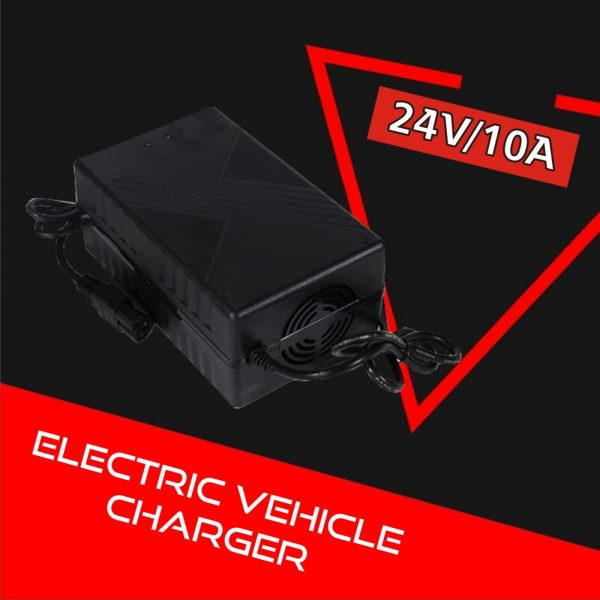 Electric Vehicle Charger 24V 10A (Lithium-ion)