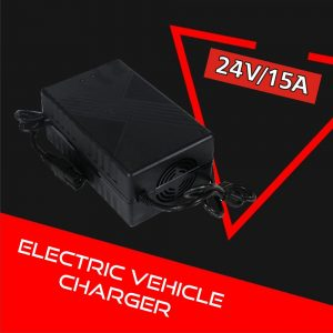 Electric Vehicle Charger 24V 15A (Lithium-ion)